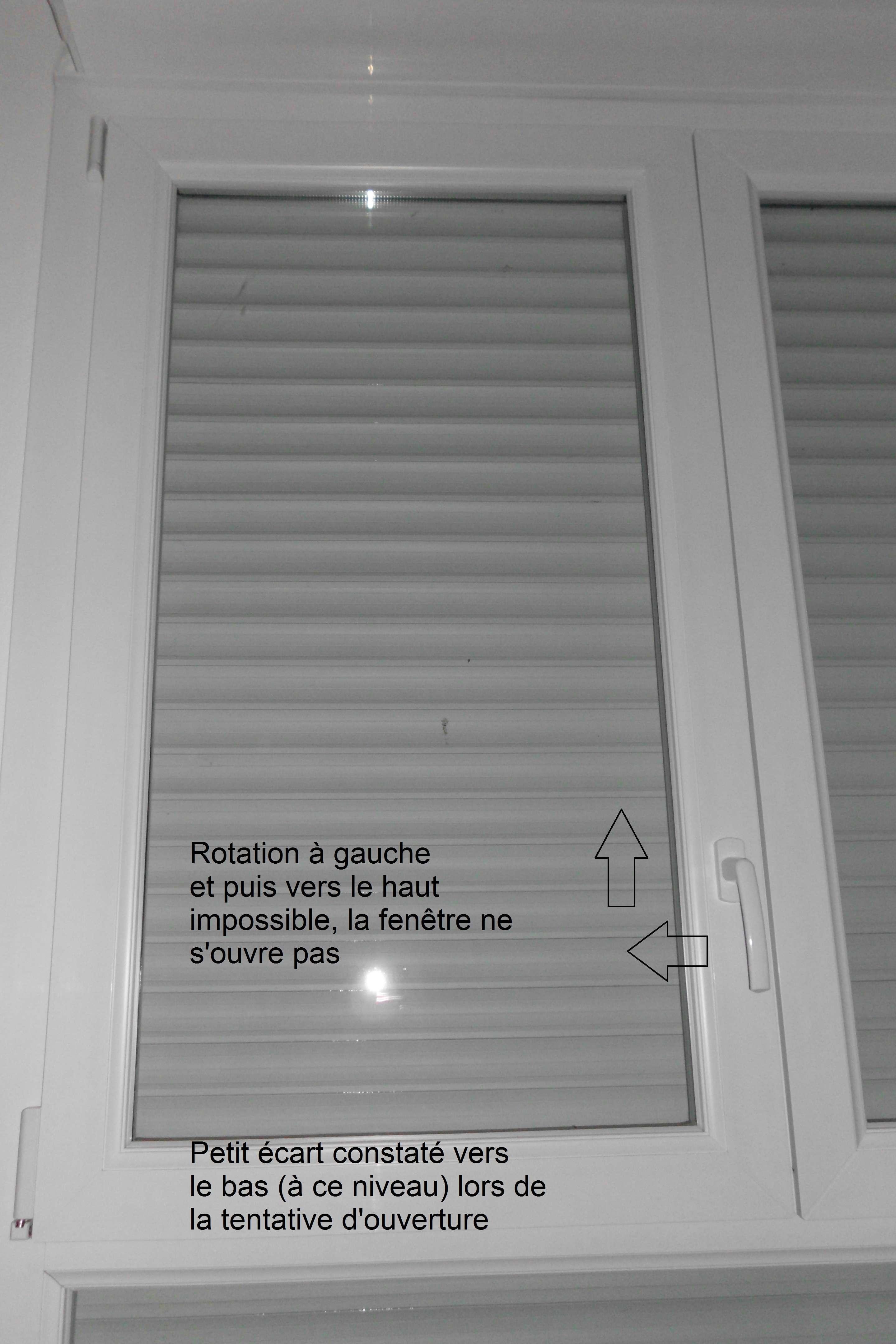 Fenêtre Pvc Bloquée Fermée Forum Menuiseries Extérieures Système D