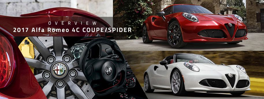 Alfa Romeo 4C Coupe/Spider Model Review