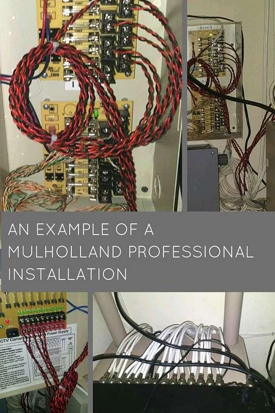 Mulholland Professional Install