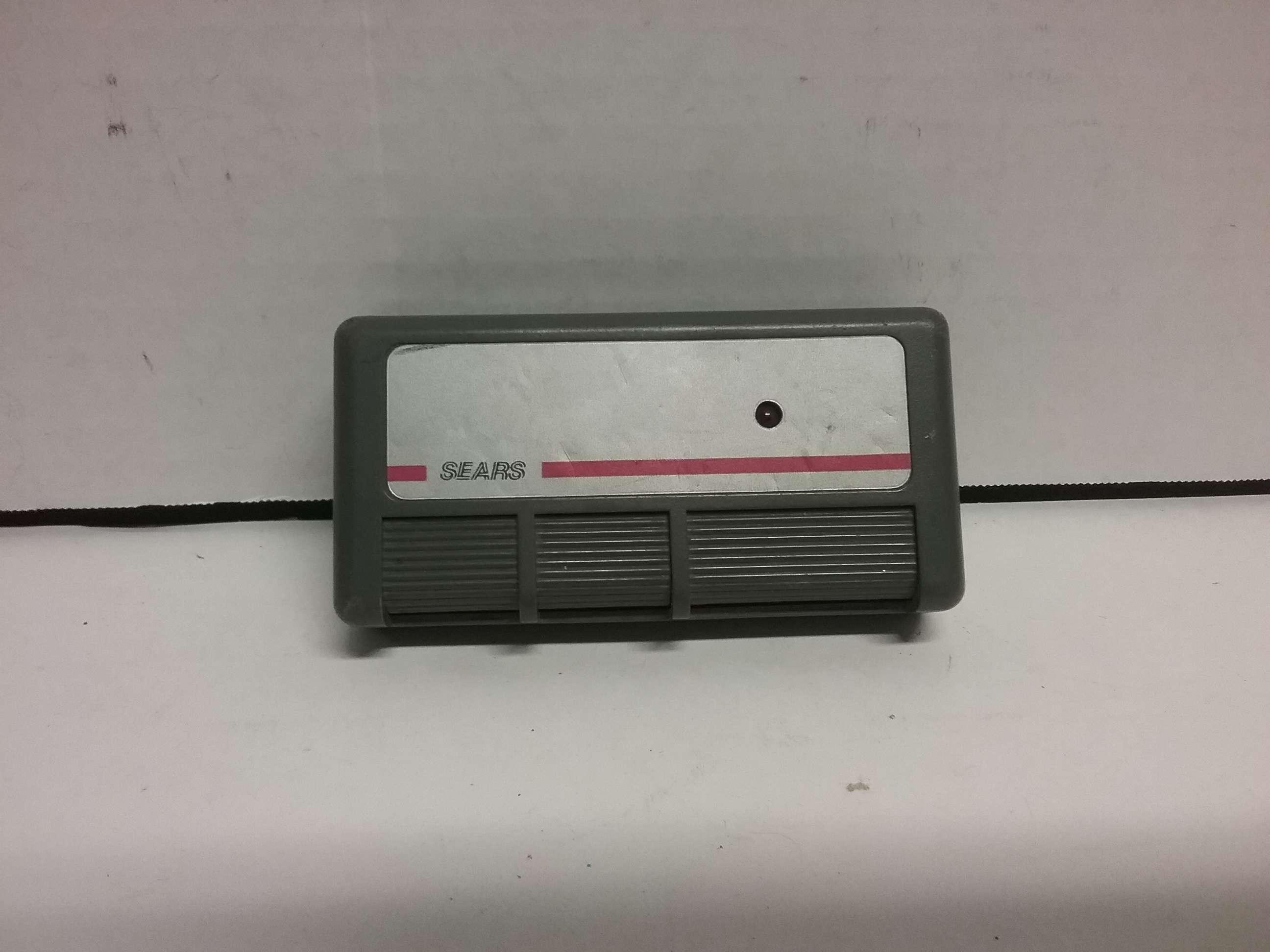 Sears Craftsman 3 Button Garage Door Amp Gate Remote Opener