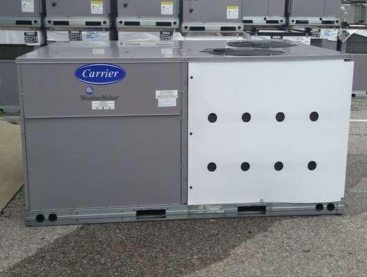 carrier commercial 7 5 ton gas package unit 460 volts 3 phase ebay. Black Bedroom Furniture Sets. Home Design Ideas