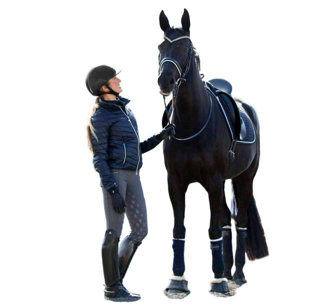 Horze-Leah-Women-039-s-Windproof-All-Season-Riding-Tights-Mid-Rise-Waist thumbnail 12