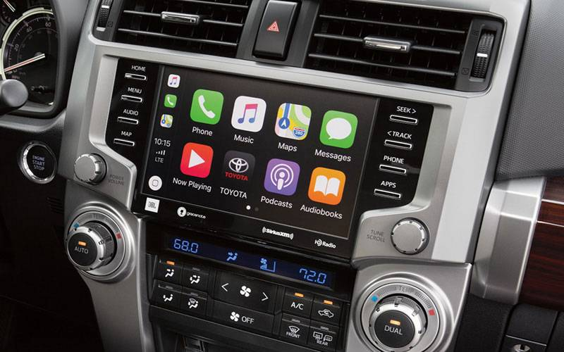 Toyota 4Runner Infotainment