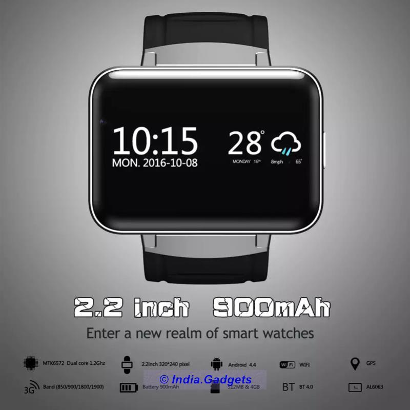 India Gadgets | DM98 Android Watch Phone: Smart Watch