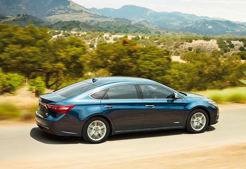 Toyota Avalon Hybrid fuel efficiency
