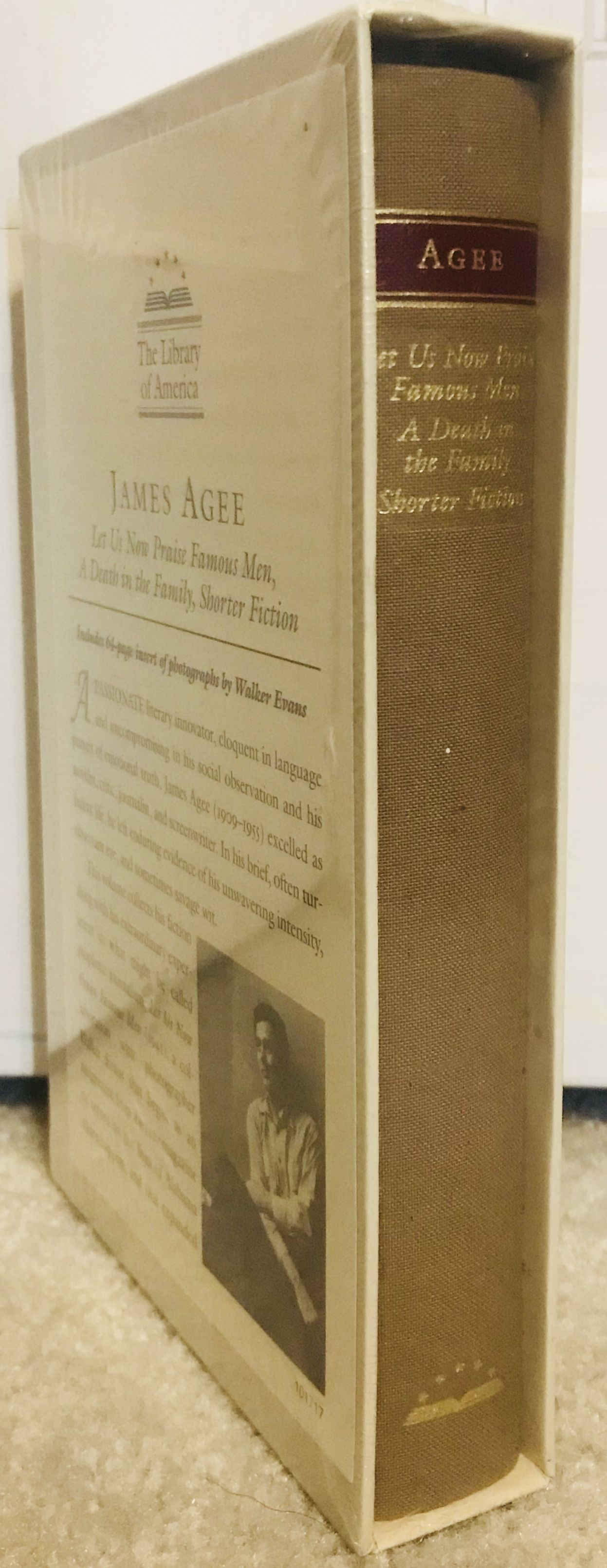 James Agee: Let Us Now Praise Famous Men / A Death in the Family / shorter fiction (LOA #159) (Library of America), Agee, James