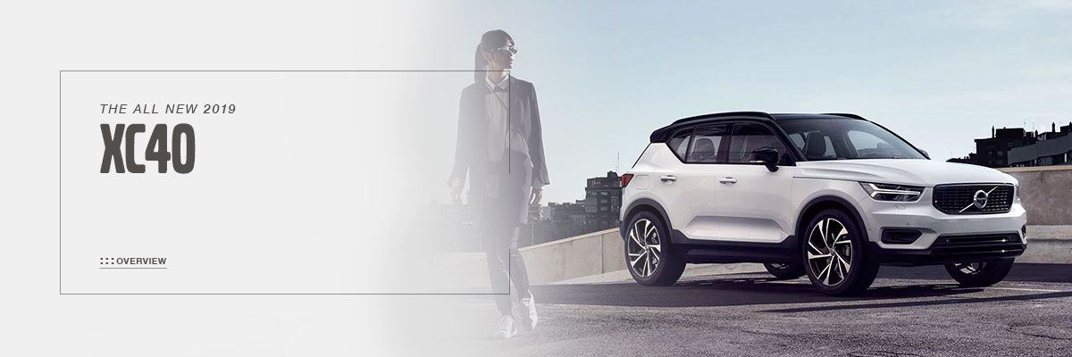All-New 2019 Volvo XC40 at Volvo Cincinnati North