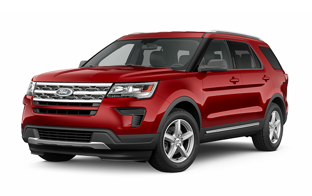 Ford Explorer XLT 4WD Lease Deal
