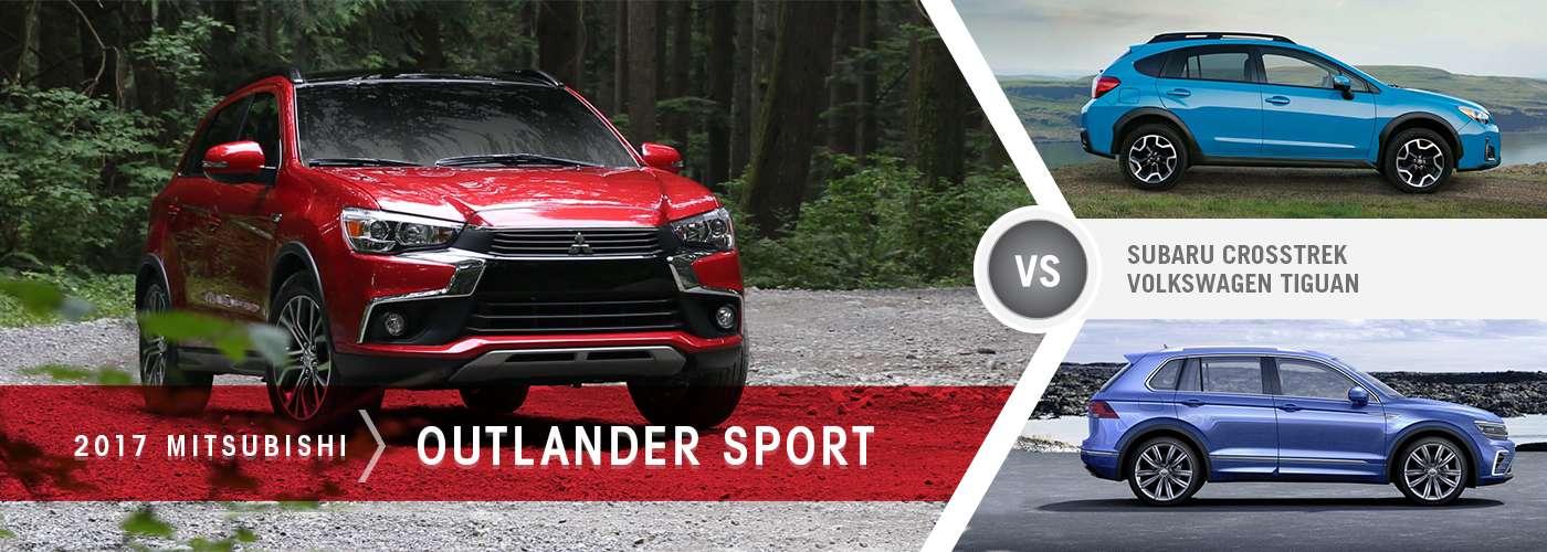 Outlander Sport Crosstrek Tiguan Comparison