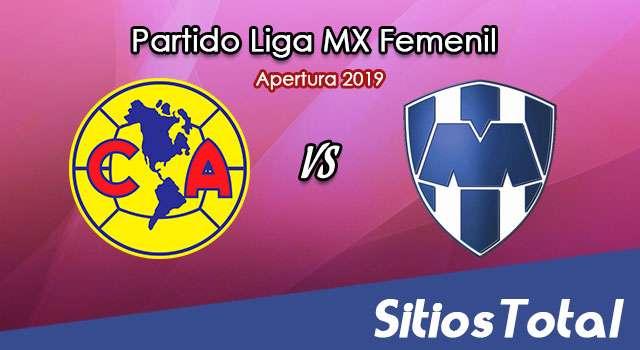 Ver América vs Monterrey en Vivo – Semifinal Ida – Liga MX Femenil – Apertura 2019 – Viernes 22 de Noviembre del 2019