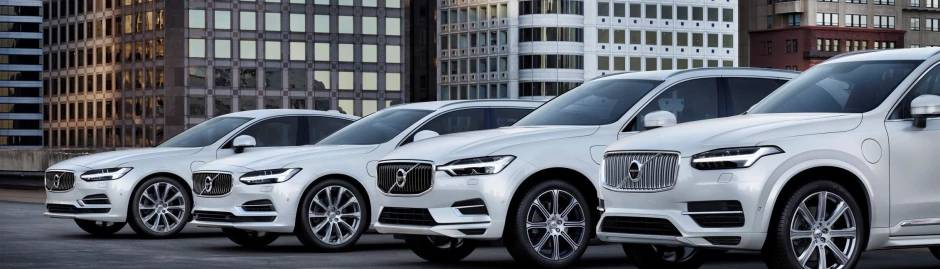Volvo Cars Line Up