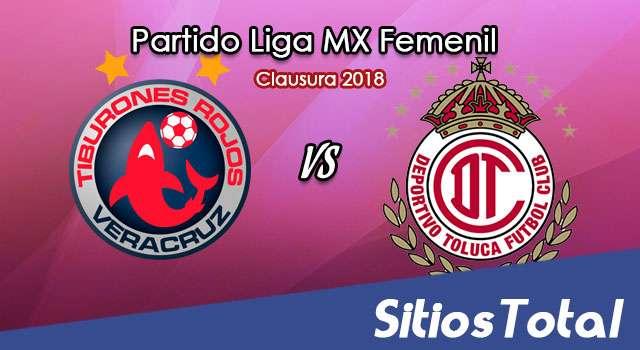 Veracruz vs Toluca en Vivo – Liga MX Femenil – Sábado 10 de Febrero del 2018