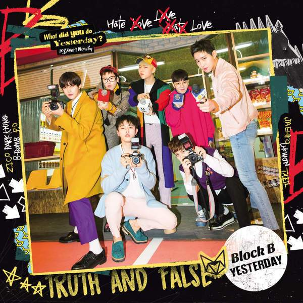 Block B - Yesterday (Japanese Single) K2Ost free mp3 download korean song kpop kdrama ost lyric 320 kbps