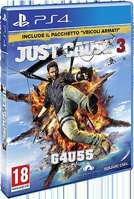 [PS4] Just Cause 3 (2015) - FULL ITA