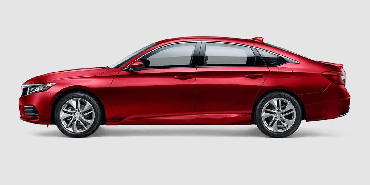 2018 Honda Accord LX in Radiant Red