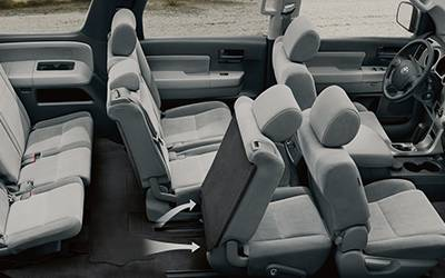 Toyota Sequoia Interior 02