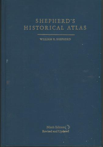 Historical Atlas, William R. Shepherd