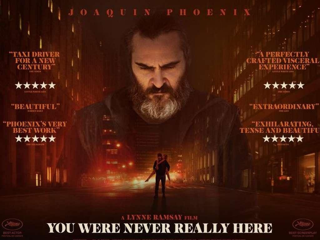 Δεν ήσουν ποτέ εδώ (You Were Never Really Here) Poster Πόστερ