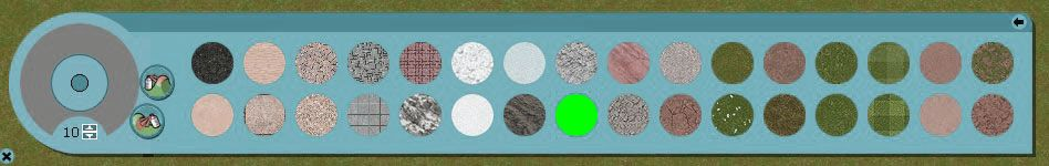 My Downloads - TexMod Packs: Chroma Key Terrain - The In-Game Terrain Textures with Chroma Green Example Shown, Image 03