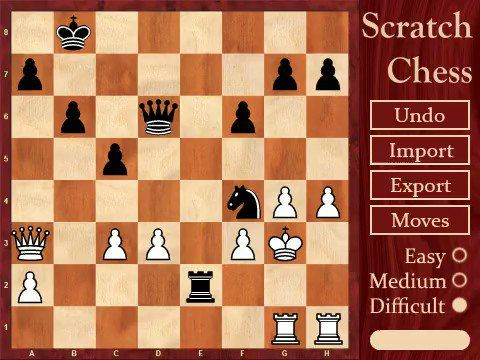 Scratch Chess Engine - Game of Kings - Discuss Scratch