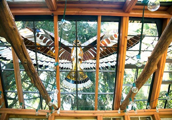 Neile Cooper's Stained Glass Cabin (Sparta/ New Jersey)