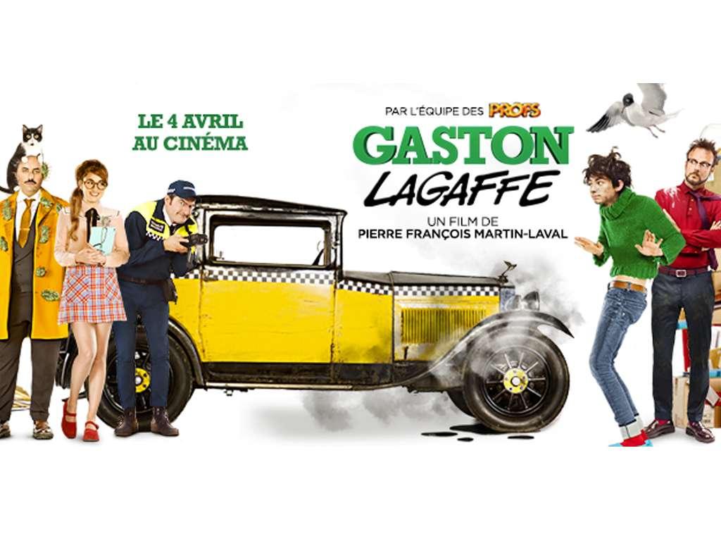 Γκαστόν, ο Γκαφατζής (Gaston Lagaffe) Movie