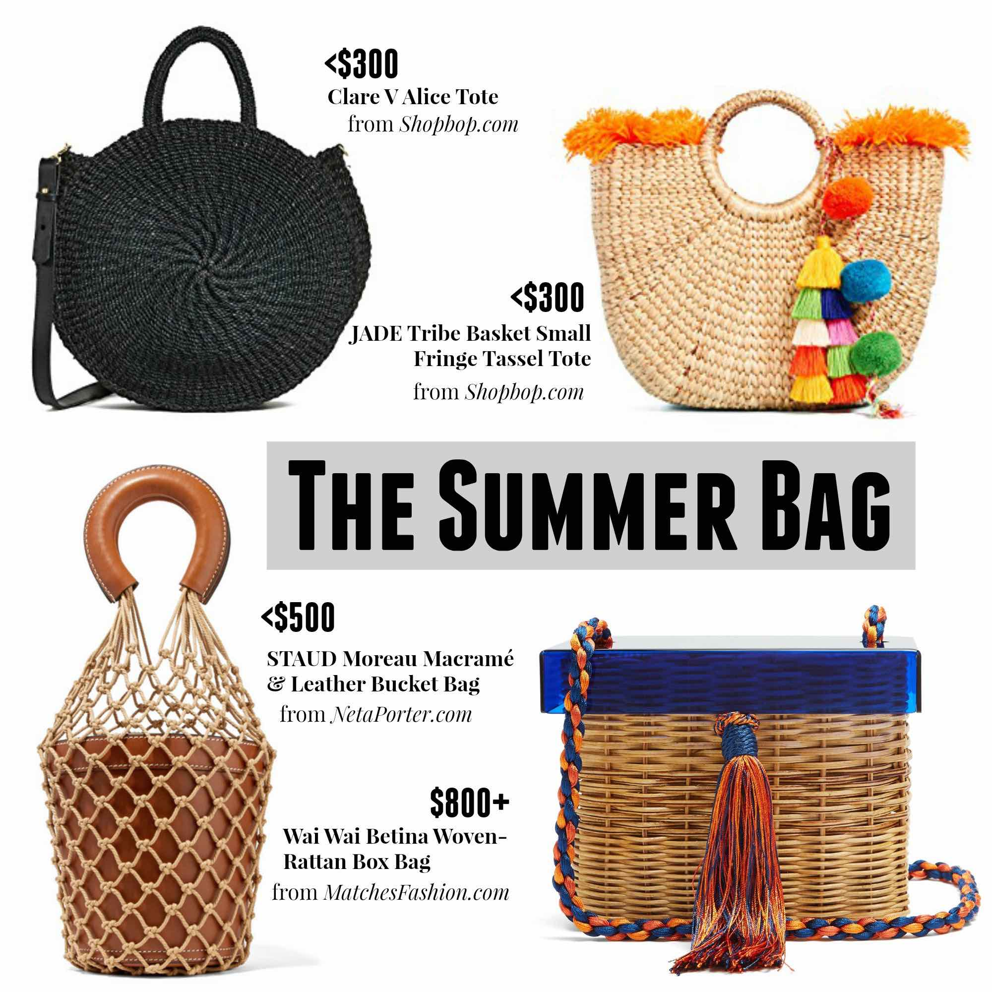The Essential Summer Bags
