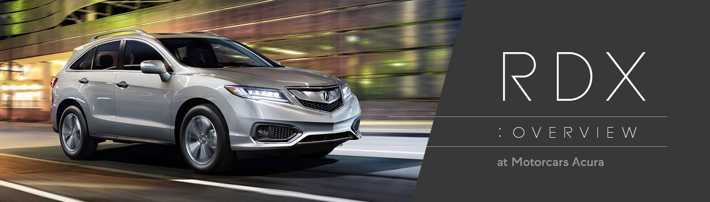 Acura RDX Model Review In Bedford OH Motorcars Acura - 2018 acura rdx headlights