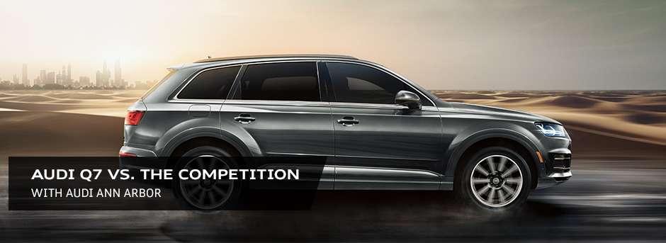 2019 Audi Q7 Vs Mercedes Benz Gls Vs Volvo Xc90 Audi Ann Arbor