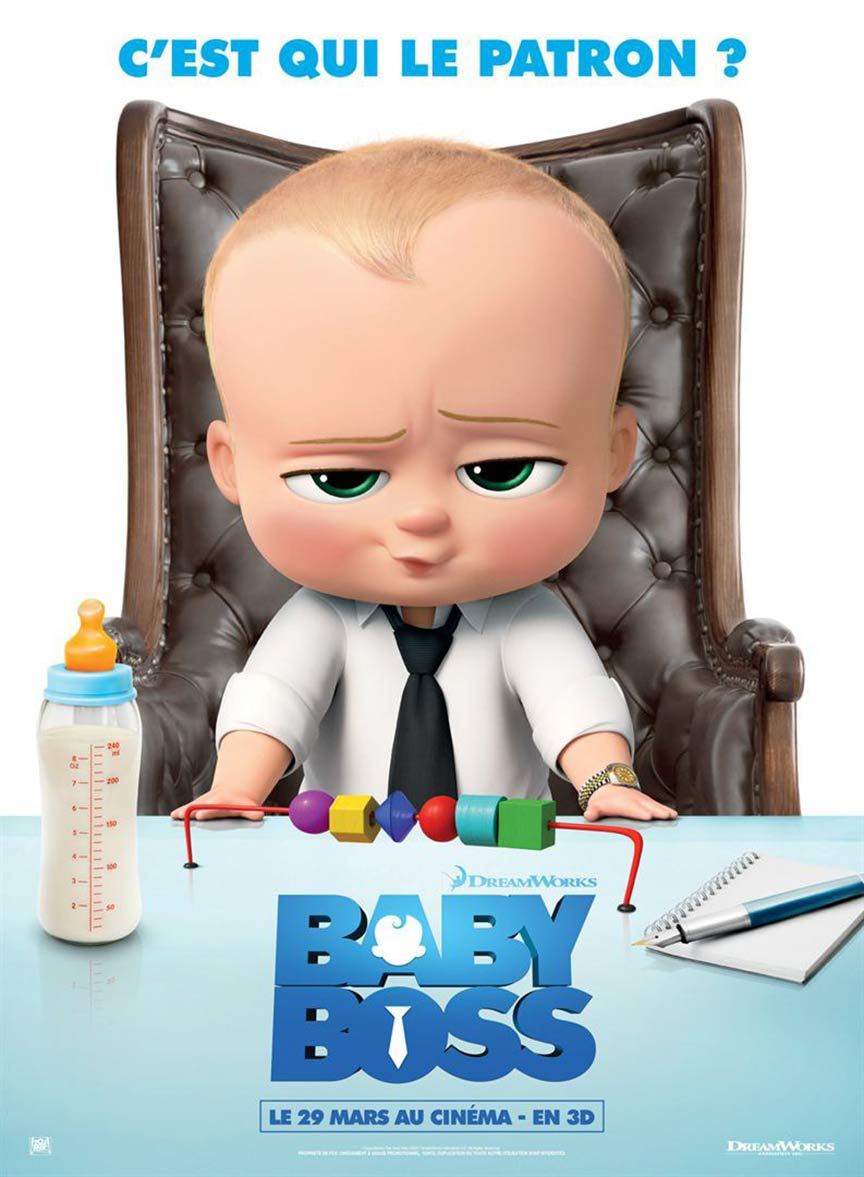 Poster The Boss Baby 2017 Full Movie Download English HDCam
