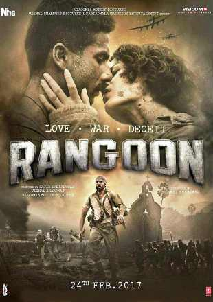poster Rangoon 2017 Full Movie Download Pre-DVDRip 700Mb