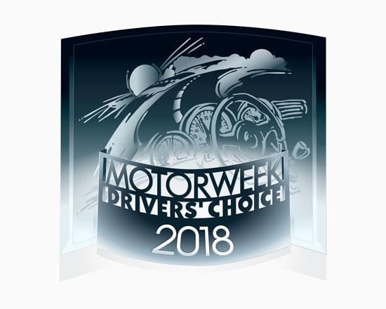 2018 MotorWeek Drivers Choice Award Land Rover Range Rover Velar