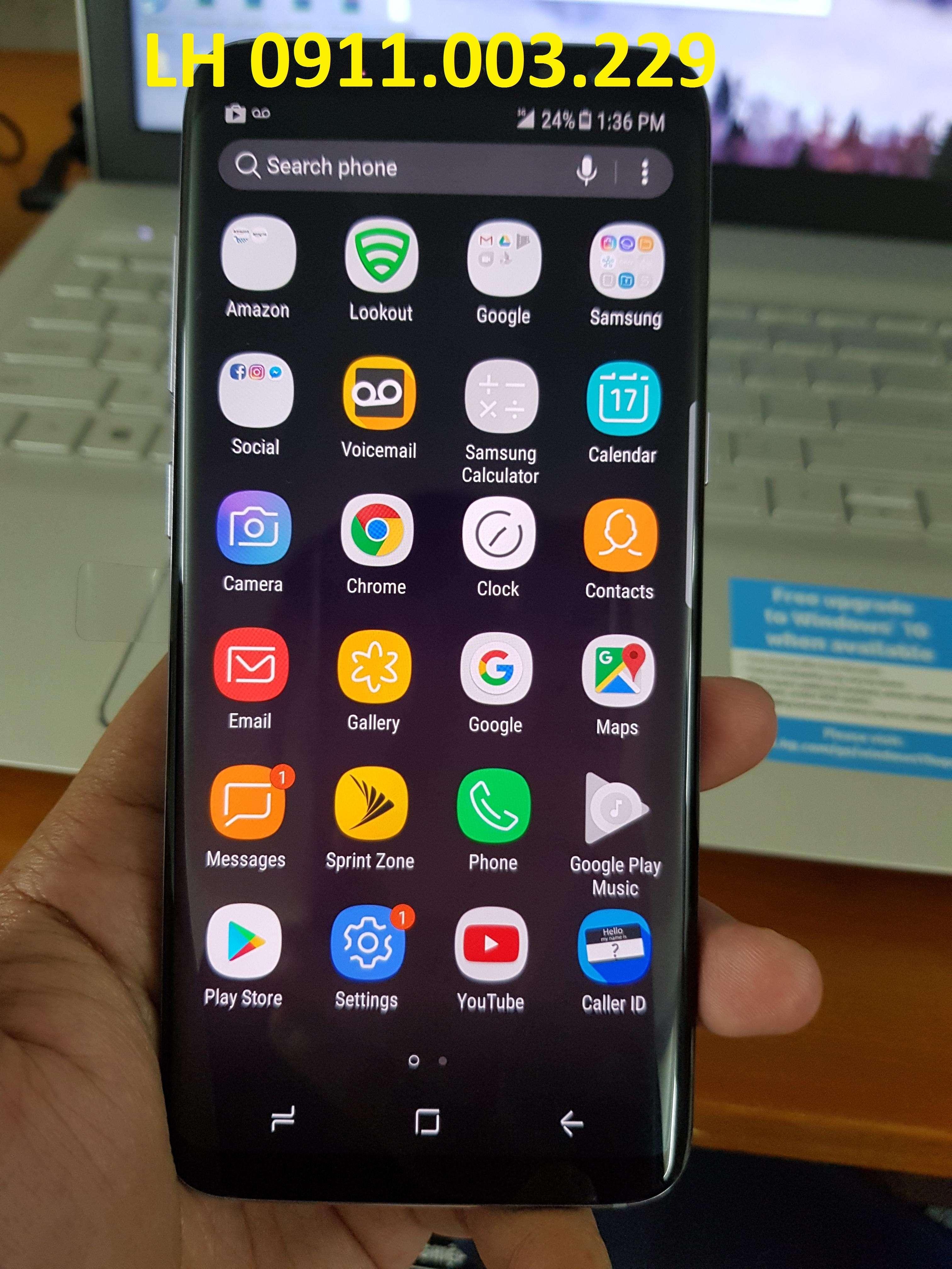 Mở mạng giải mã S8 Sprint SM-G950U ok,Unlock S8 thẻ sim