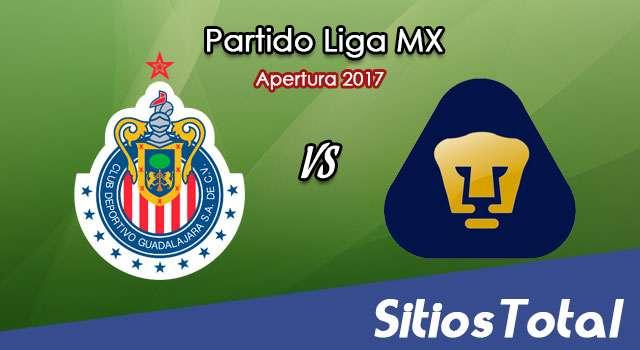 Chivas vs Pumas en Vivo – Jornada 9 Apertura 2017 Liga MX – Sábado 16 de Septiembre del 2017