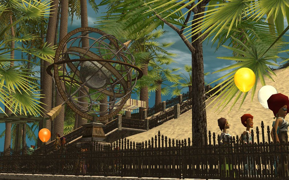 My Projects - CSO's I Have Imported, Landscaping and Park Grounds - Armillary Sphere Near Sky Sling, Image 02