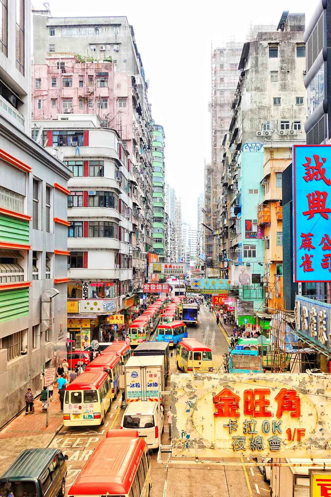 Temple Street - Hong Kong