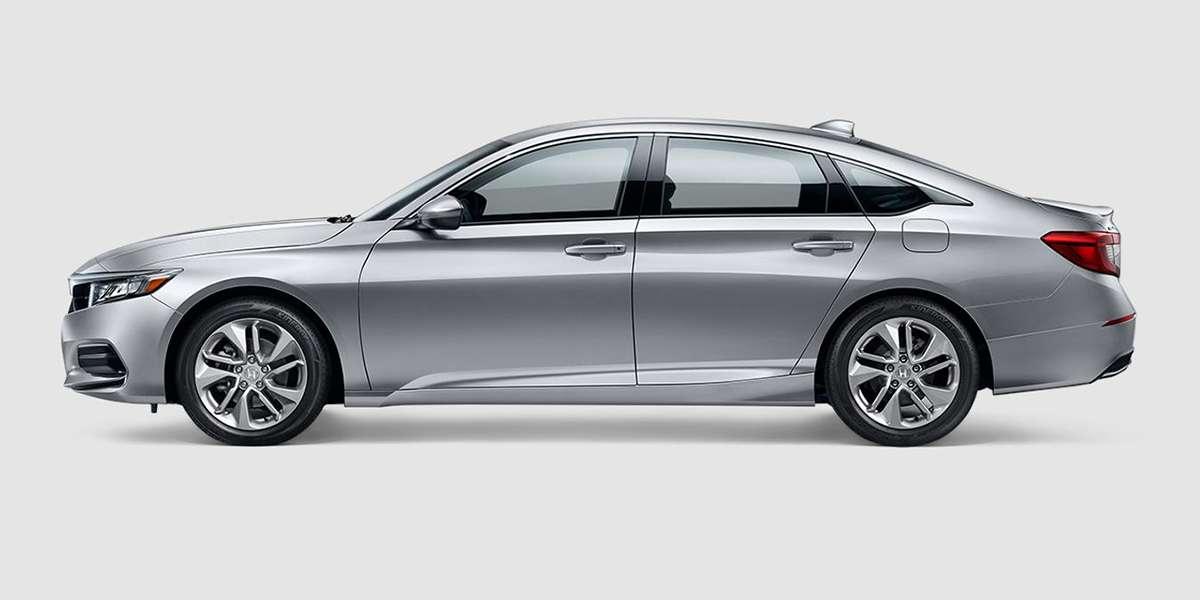 2018 Honda Accord LX in Lunar Silver
