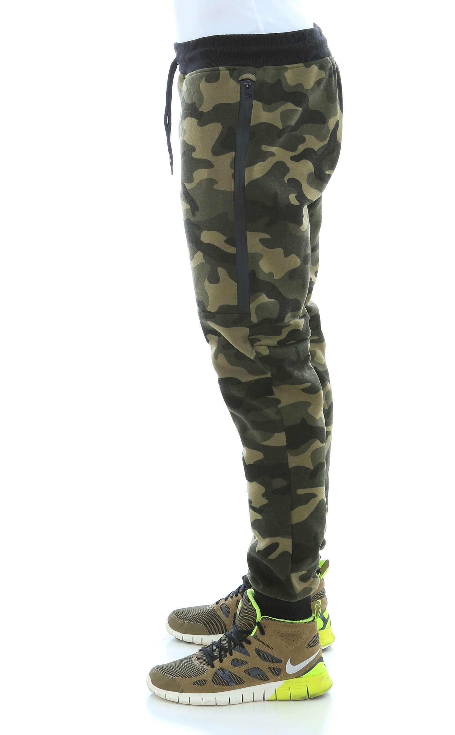 WT02-Men-039-s-Fleece-Jogger-Sweatpants-With-Bonded-Zippers thumbnail 16