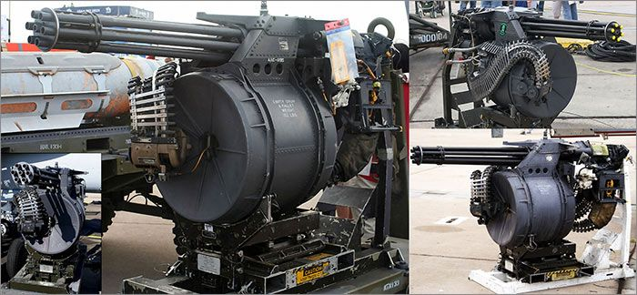 M61-A Vulcan Cannon Images