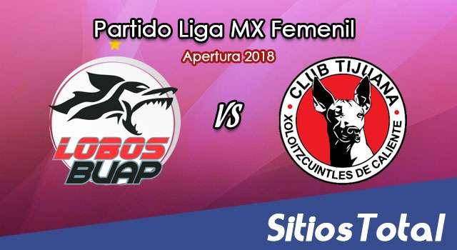 Ver Lobos BUAP vs Xolos Tijuana en Vivo – Liga MX Femenil – Domingo 5 de Agosto del 2018