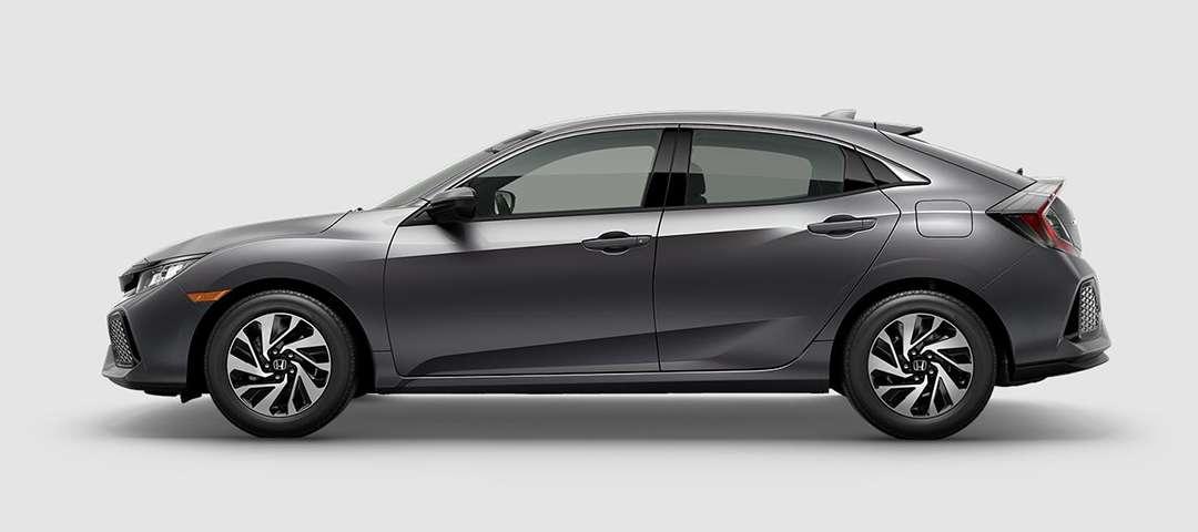 2018 Honda Civic Hatchback LX in Polished Metal
