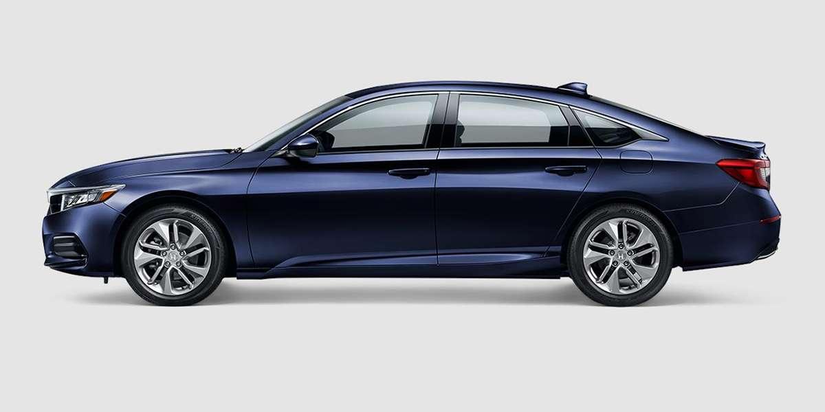 2018 Honda Accord LX in Obsidian Blue