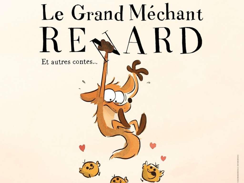 Η Μεγάλη Κακιά Αλεπού και Άλλες Ιστορίες (Le Grand méchant renard et autres contes) Quad Poster Πόστερ