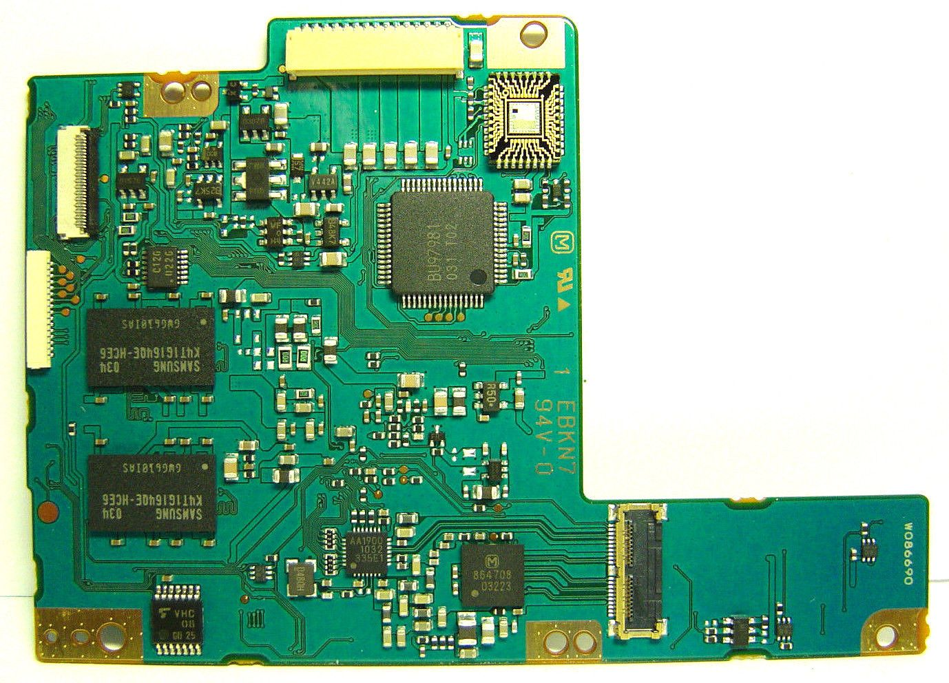 Canon Eos 60d Camera Main Board Pcb Assembly Replacement Repair Part Circuit Buy Boardpcb