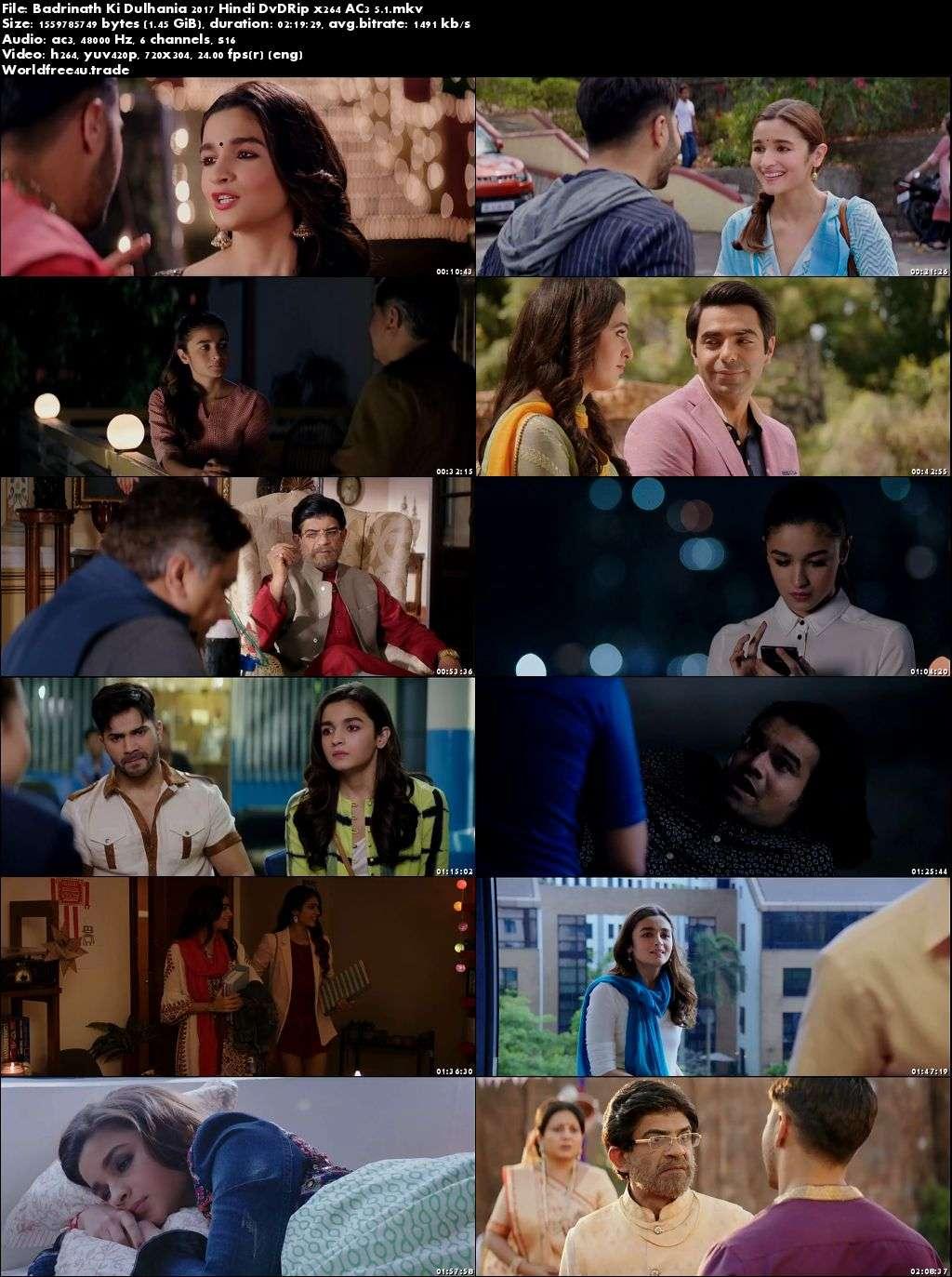 Screen Shots Badrinath Ki Dulhania (2017) Full HD Movie Download 720p