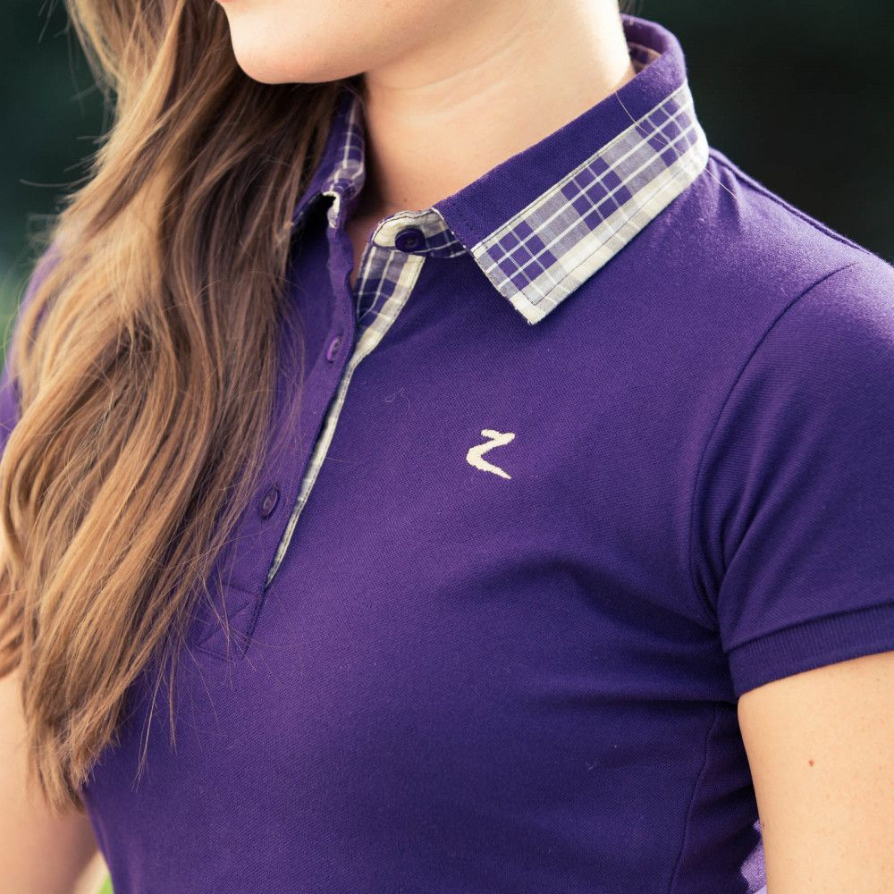 Horze-Brita-Women-039-s-Short-Sleeved-Polo-Shirt-Moisture-Wicking-Anti-Odor thumbnail 13