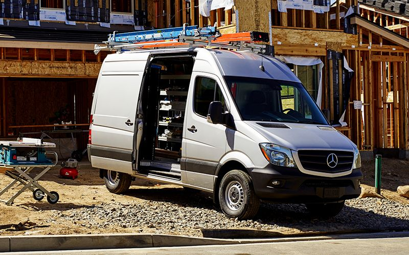Mercedes-Benz Sprinter Ladder Racks
