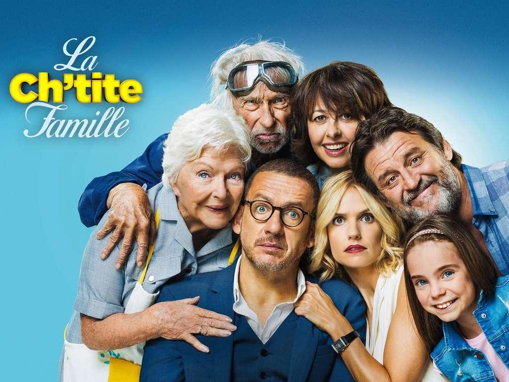 Η Οικουγένεια (La Ch'tite Famille) Quad Poster Πόστερ
