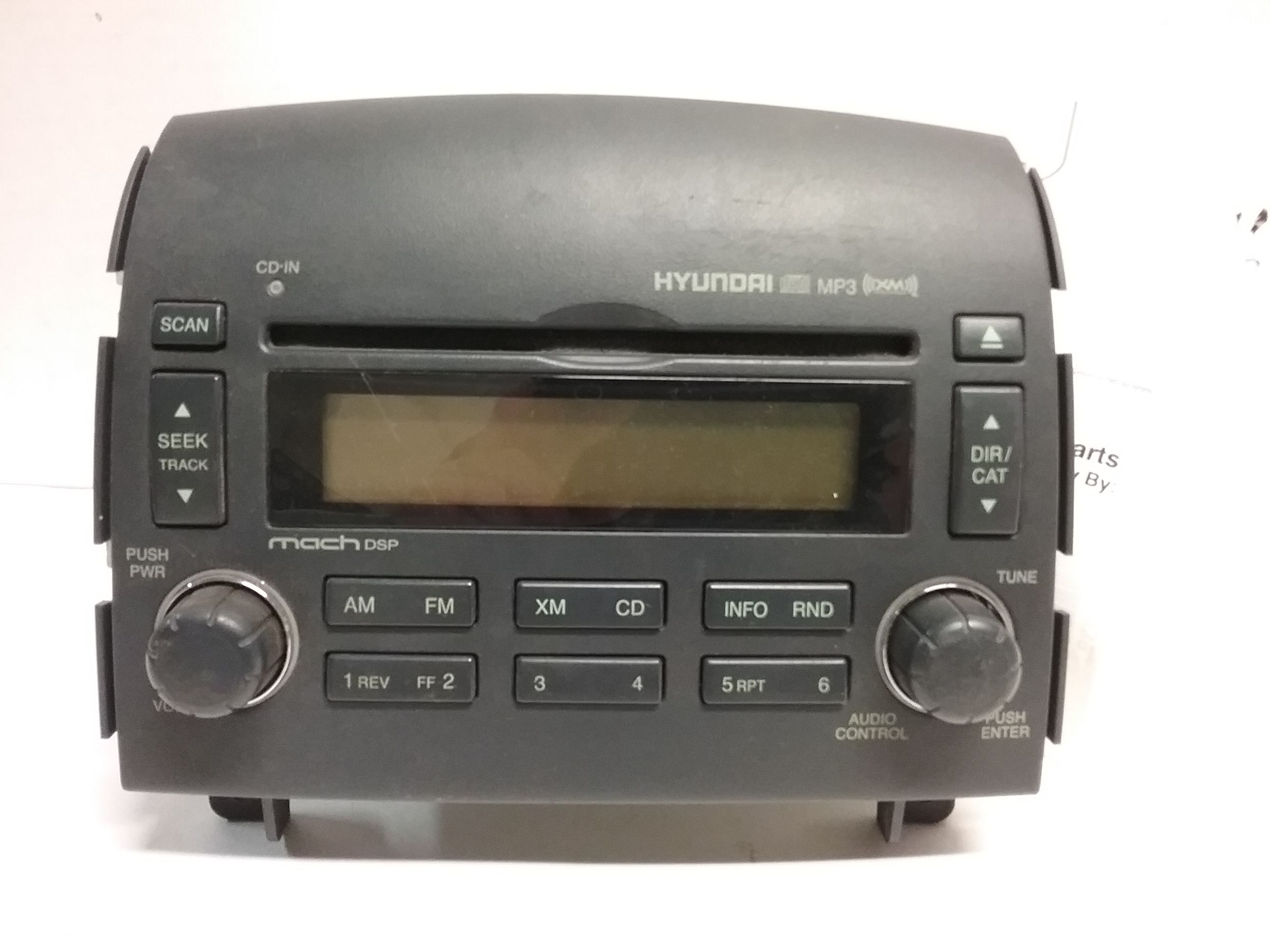 06 07 08 HYUNDAI Sonata Radio Stereo MP3 CD Player OEM XM Ready MACH Factory OEM