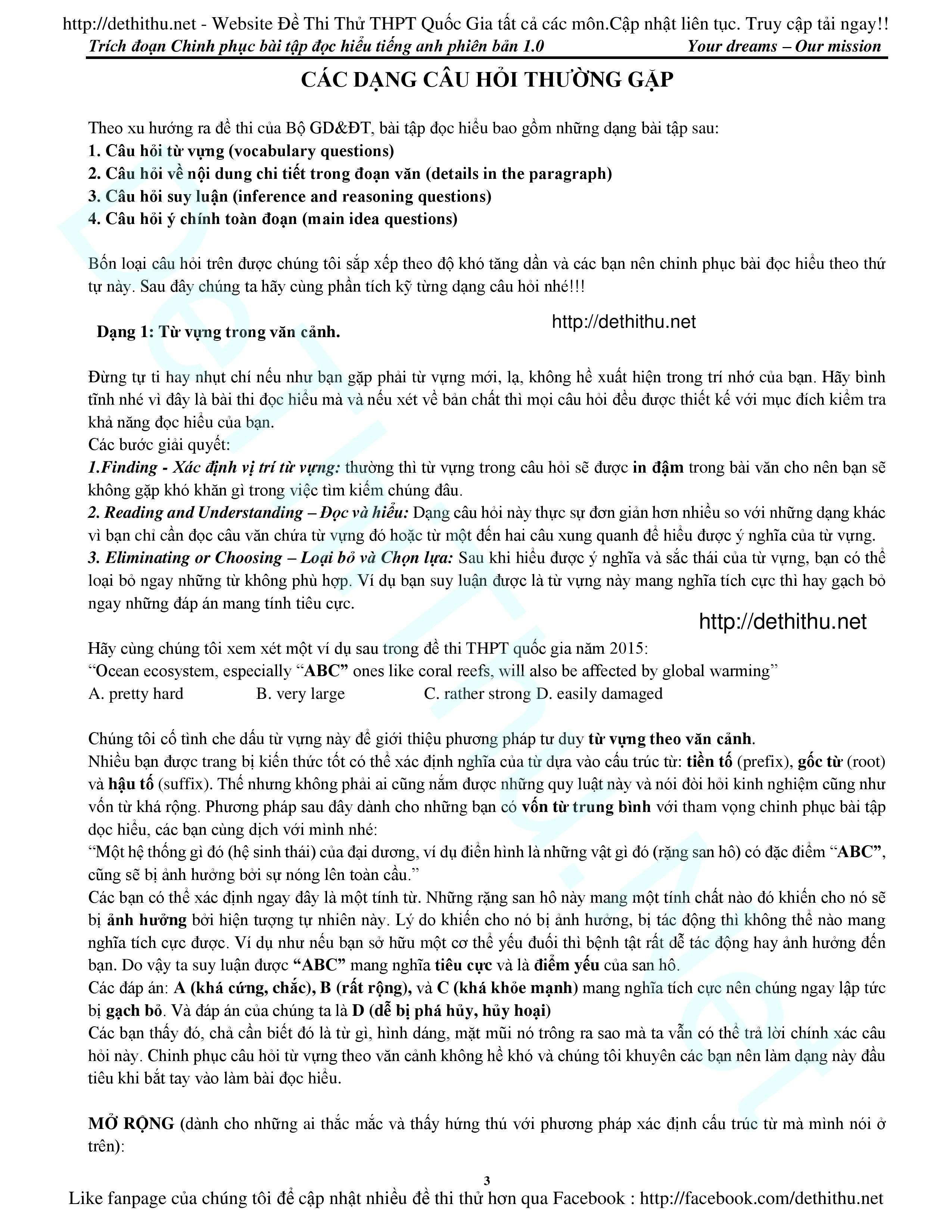 15 bài đọc hiểu tiếng Anh giải chi tiết   Tài liệu chinh phục đọc hiểu lovebook